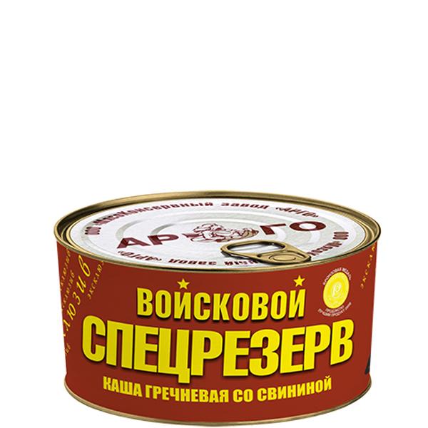 Каша гречневая со свининой ГОСТ Войсковой Спецрезерв