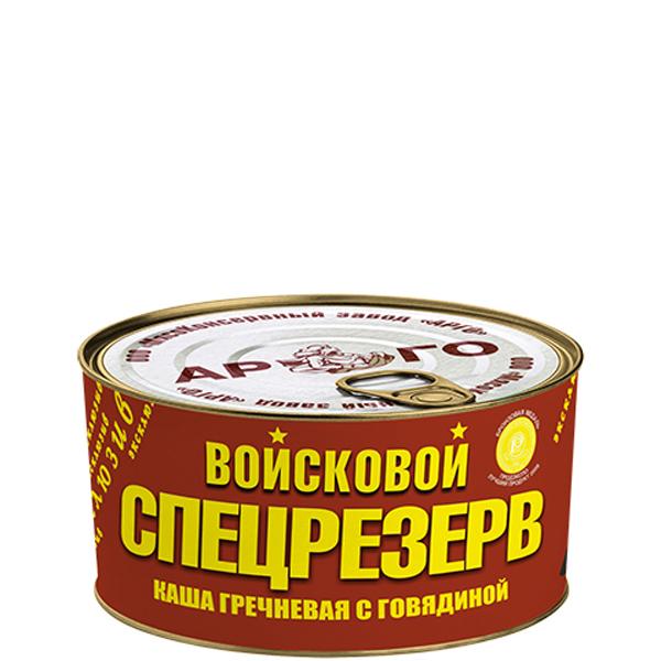 Каша гречневая с говядиной ГОСТ Войсковой Спецрезерв