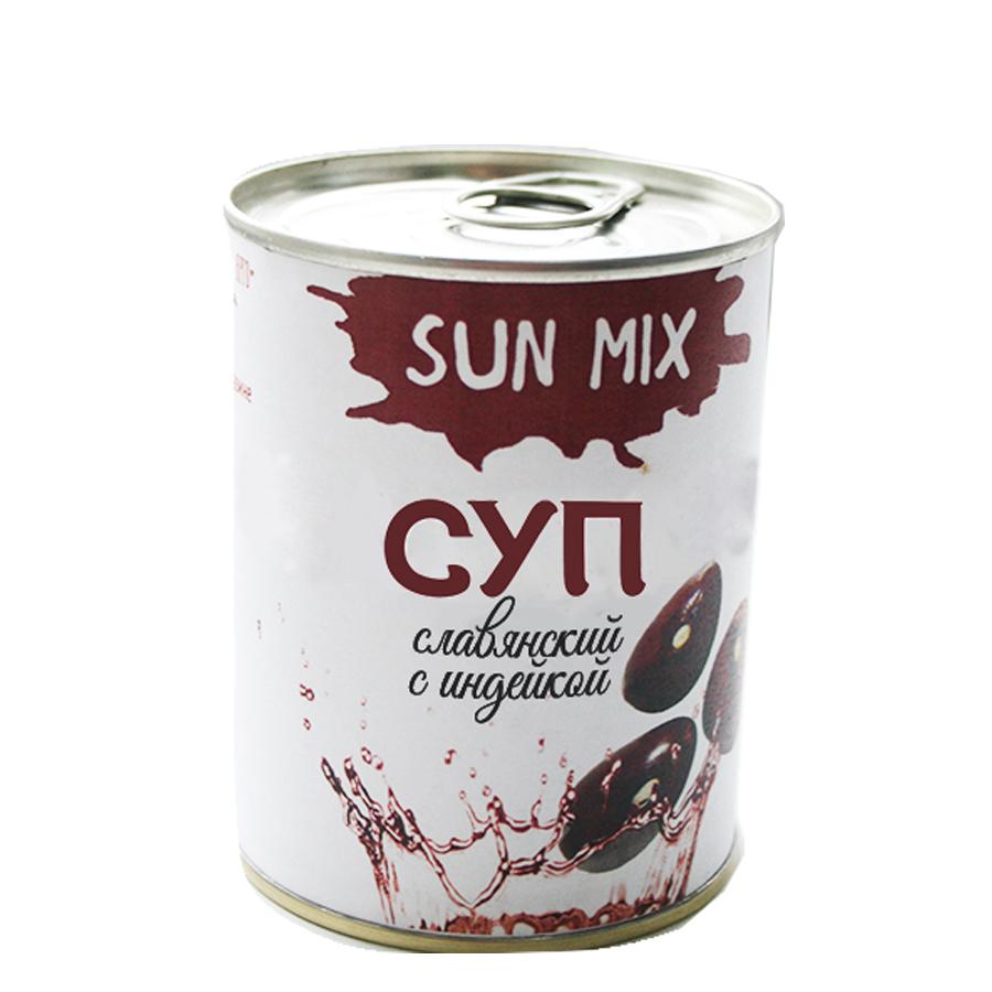 Суп славянский с индейкой Sun Mix